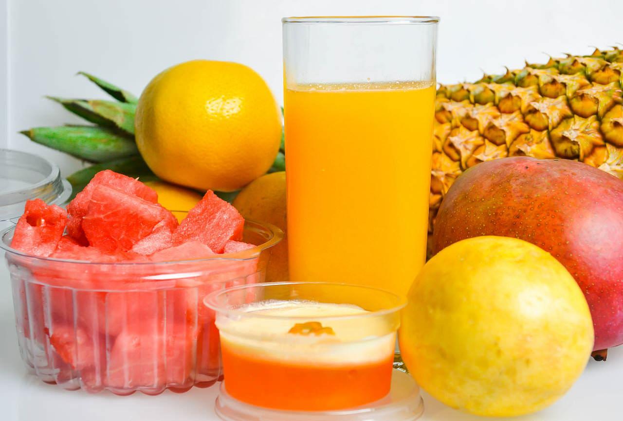 owoce i sok