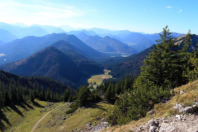 Kotlina Kłodzka widok na góry