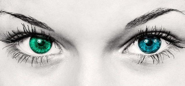 Różnokolorowe oczy
