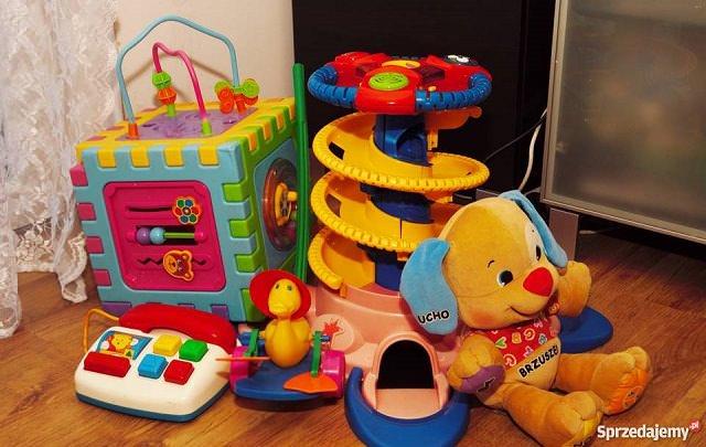Używane zabawki dla dzieci