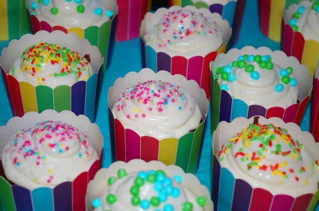 Kolorowy deser dla dzieci