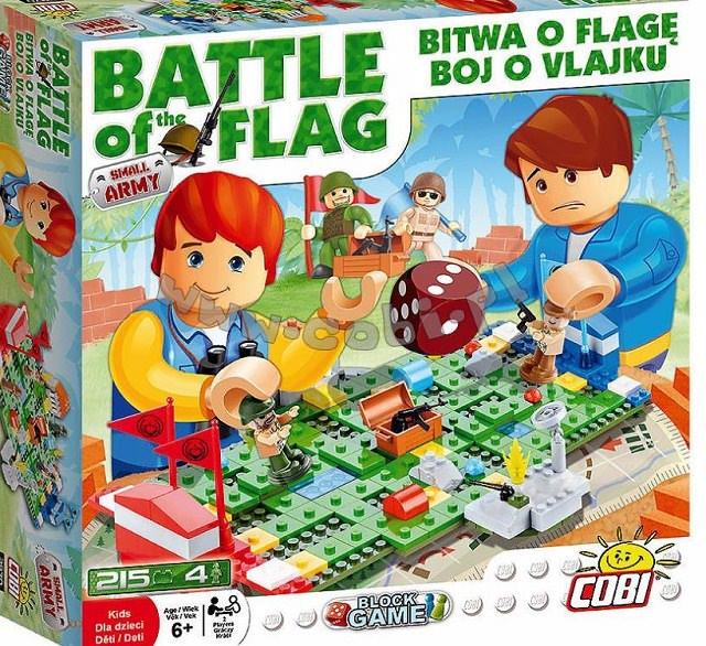 Gra klockowa Small Army - Bitwa o flagę