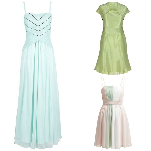 Pastelowe sukienki z gorsetem