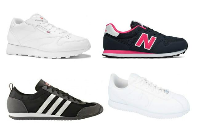 klasyczne buty sportowe