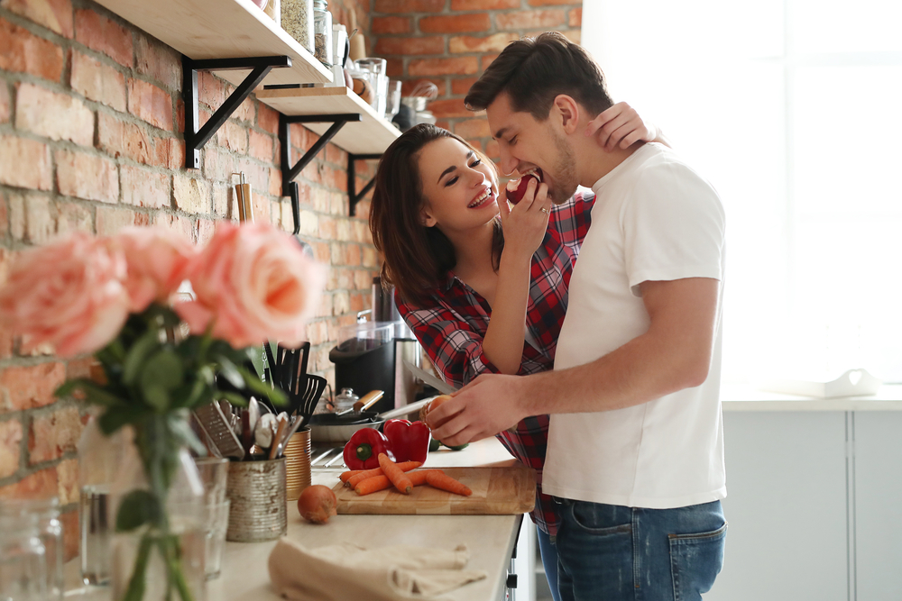 Para w kuchni