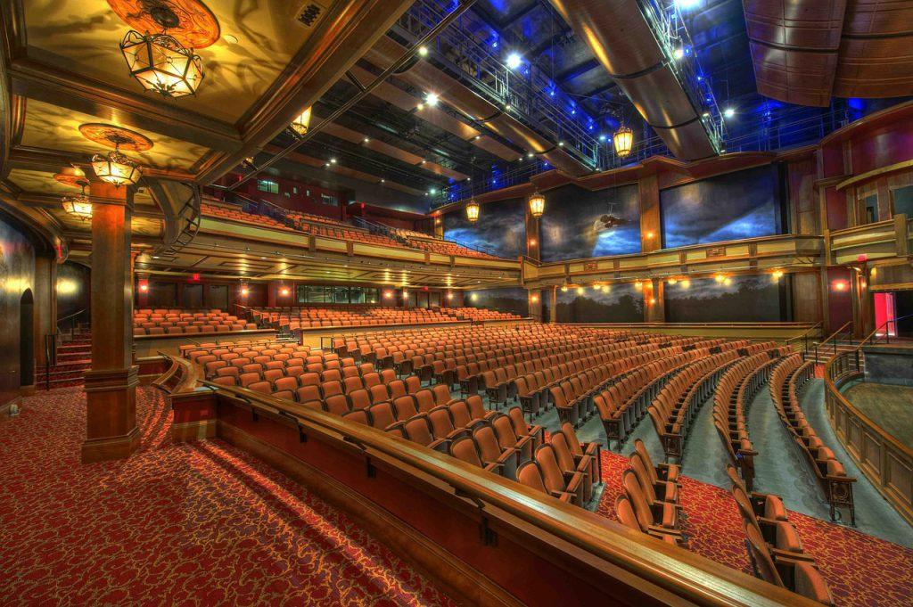 Sala w teatrze