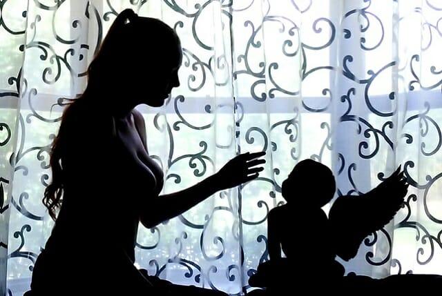 Kobieta i strata dziecka